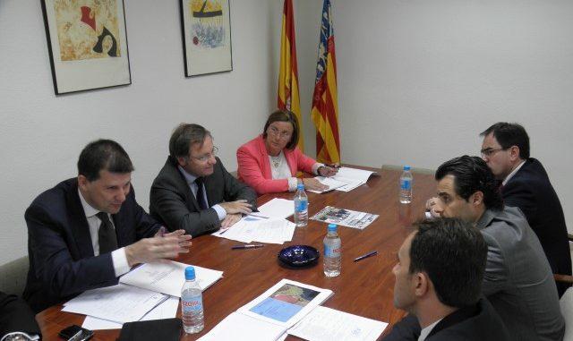 Alcalde Conseller hacienda reunión