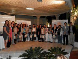 Mengual condecorada en el campeonato de España de sincronizada