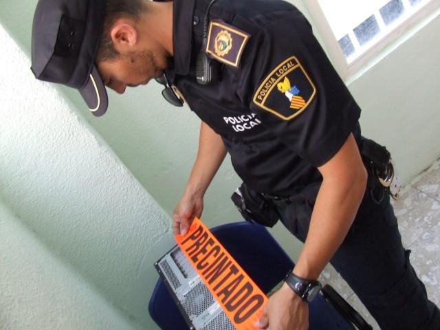 Policía Local locutorios 2
