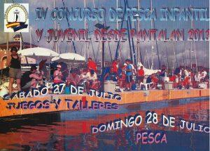 Concurso de Pesca Infantil y Juvenil desde pantalán