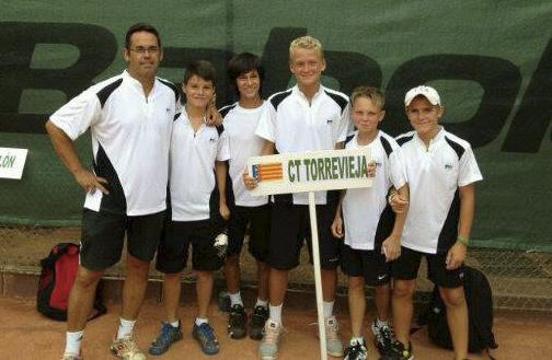equipo infantil CT Torrevieja