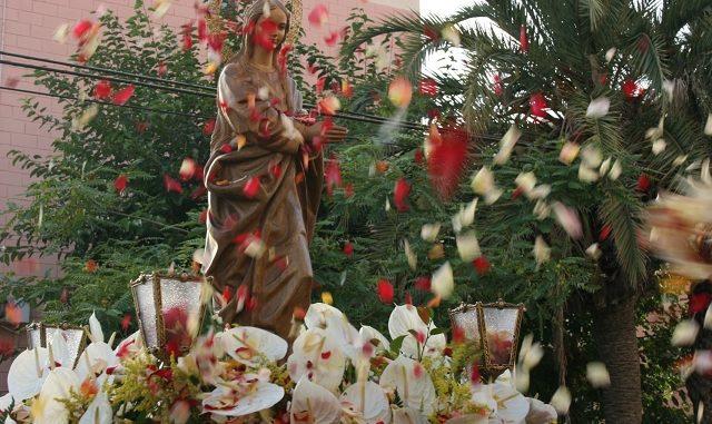 Procesión Virgen de la Alegría