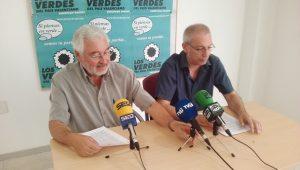 Los Verdes se interesan por el retraso en la reurbanización de la calle Bazán