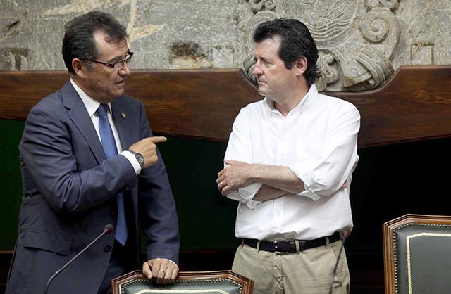 Ciscar con Antonio Bernabé