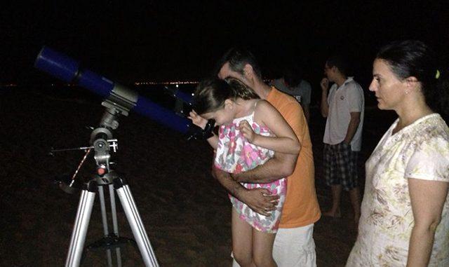 Observacion astronomica AVEU