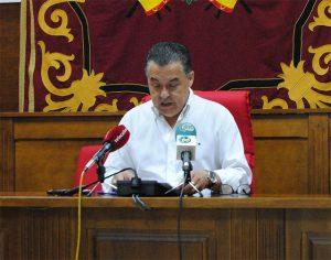 """Javier Pérez: """"En el Ayuntamiento, con la portavoz socialista, es imposible hacer las cosas de una manera normal"""""""