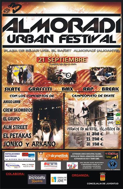 Urban Festival 2013 Cartel
