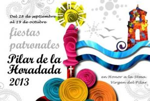 Un extenso programa de fiestas para Pilar de la Horadada