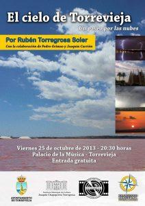 Rubén Torregrosa nos lleva de paseo por las nubes de Torrevieja