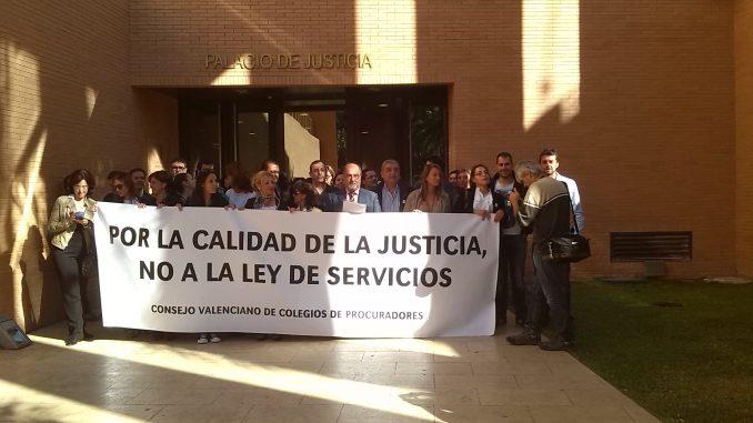 Funcionarios protesta juzgados 15NOV2013