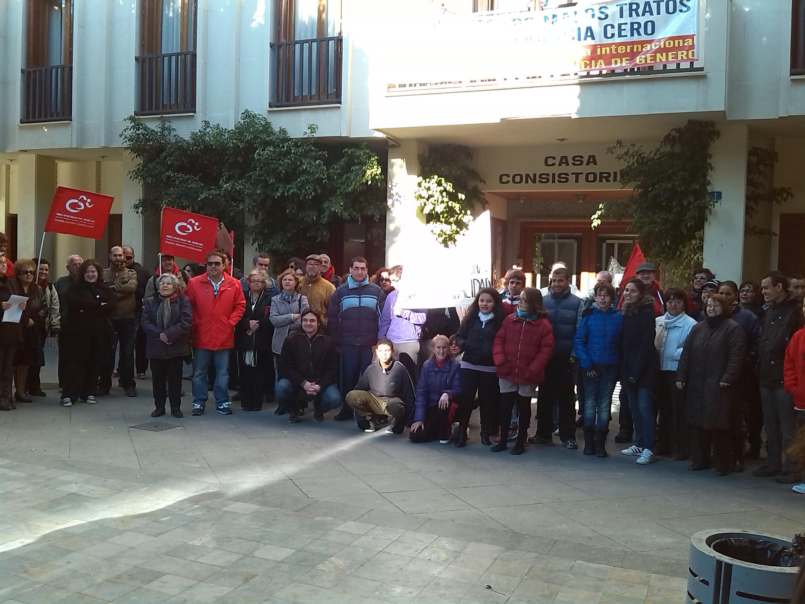 III Marcha Discapacidad Almoradí 25nov2013