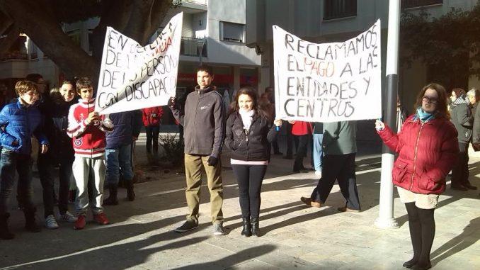 Marcha Discapacidad Almoradí 25nov2013