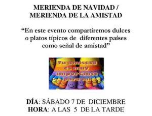 Merienda de la amistad en San Miguel de Salinas