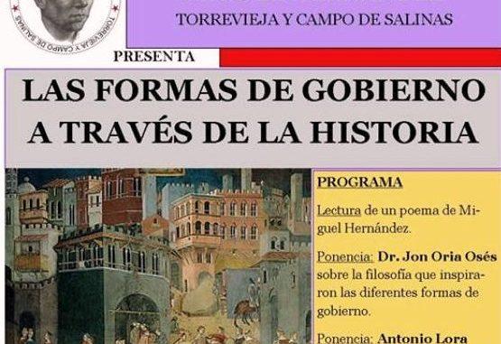 CARTEL LAS FORMAS DE GOBIERNO A TRAVÉS DE LA HISTORIA