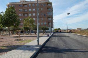 Finalizan las obras de asfaltado en Almoradi valoradas en 100.000 euros