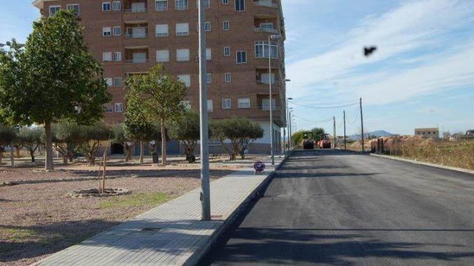 Calle asfaltada 24ene2014