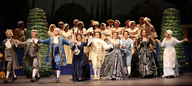 Producción de las Bodas de Fígaro de Opera 2001
