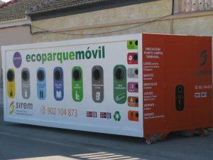 Almoradí pone en marcha un ecoparque móvil para la recogida de residuos