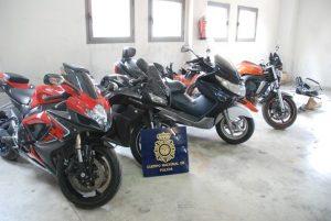La Policía desarticula un grupo delictivo especializado en el tráfico ilícito de vehículos
