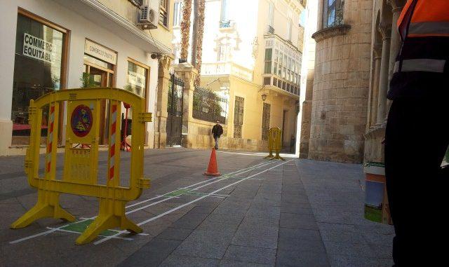 Pintura calle mayor