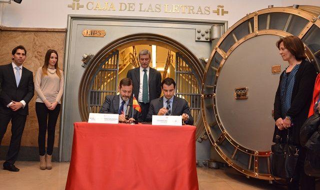 2 FIRMADO EN MADRID UN HISTÓRICO CONVENIO DE COLABORACIÓN ENTRE EL AYUNTAMIENTO Y EL INSTITUTO CERVANTES