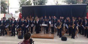 La UMT visita Crevillente para participar junto a la Unión Musical de Crevillent en el II Certamen de Música Religiosa de Crevillente