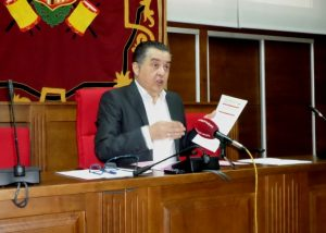 Callosa y Adif inician las negociaciones para convertir la actual vía del ferrocarril en una vía verde