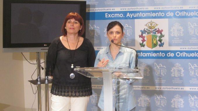 María Oleza y Rosa Martínez