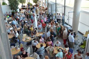Gran participación del público en la jornada inaugural de la III Feria de la Tercera Edad de Torrevieja