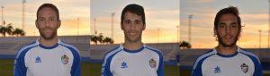 Meseguer, Micro y Rafa volverán a formar parte de las filas del CD Torrevieja