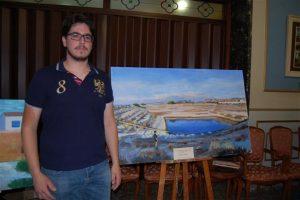 Pablo Follana gana el premio 'Arte Joven' de Almoradí con una obra centrada en la sequía