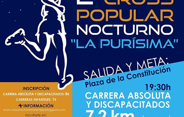CROSS POPULAR NOCTURNA Torrevieja cartel