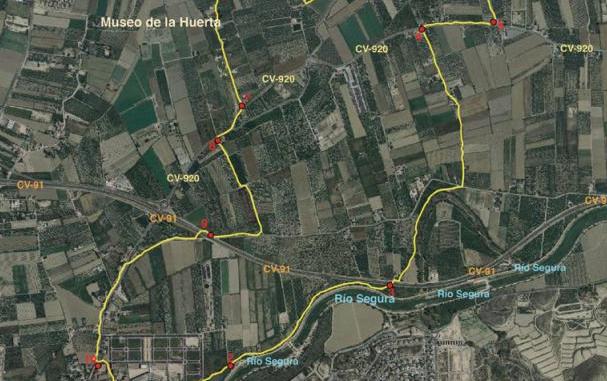Ruta Huerta historica