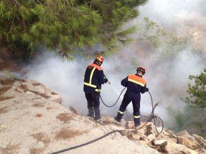 Protección Civil realizó más de un centenar de intervenciones relacionadas con incendios durante el verano