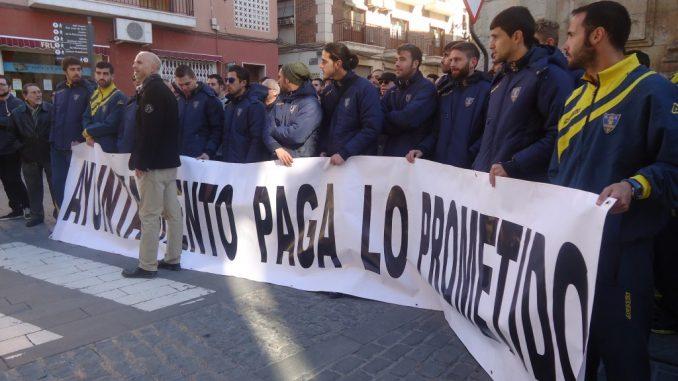 Orihuela CF protesta