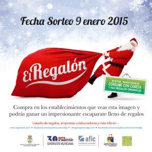 El Regalón, un premio valorado en 6.500 euros para los clientes del comercio local