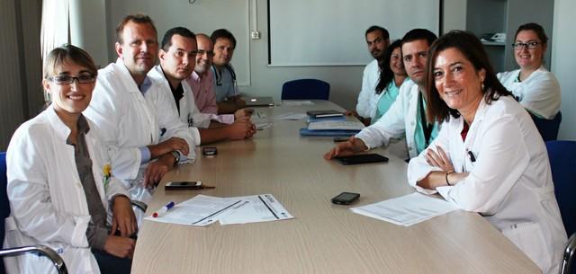 Miembros Equipo de Cirugía HU Torrevieja