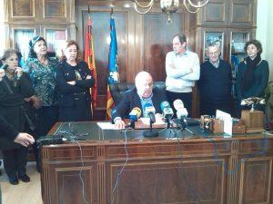 El alcalde de Almoradí anuncia que deja la política tras 16 años al frente de la localidad