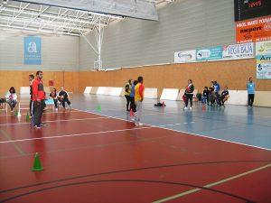 Ochenta deportistas de la provincia participan en las pruebas adaptadas de baloncesto