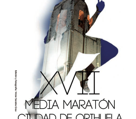 cartel Media Maratón Orihuela 2015