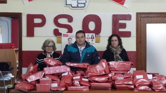 Juguetes campaña PSOE