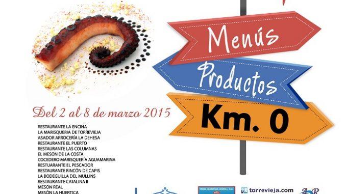 CARTEL SABORES DE TORREVIEJA 2015 PARTICIPANTES