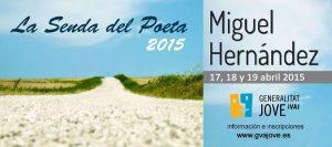 Abierto el plazo de inscripción para la Senda del Poeta 2015