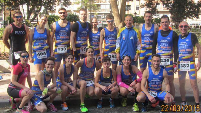 Tragamillas Duatlon Murcia 2015