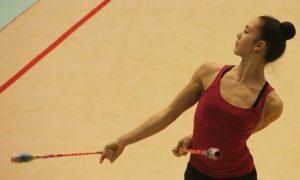 Polina Bezerina, del Club Torrevieja, se proclama campeona de España de Gimnasia Rítmica
