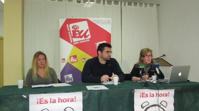 Foto rueda prensa presentación primarias abiertas IU Torrevieja