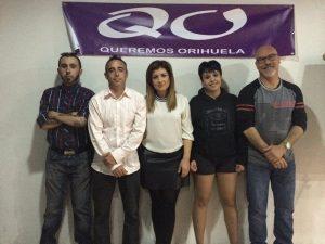 La agrupación Queremos Orihuela concurre a las elecciones bajo el partido Ganemos tras no lograr 1.500 firmas