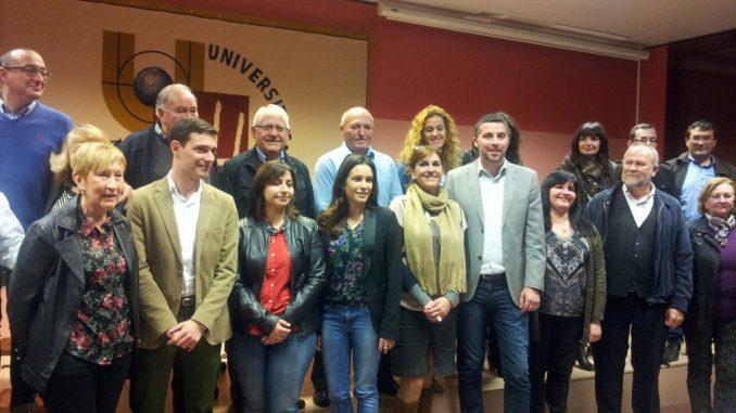 Candidatura PSOE 2015