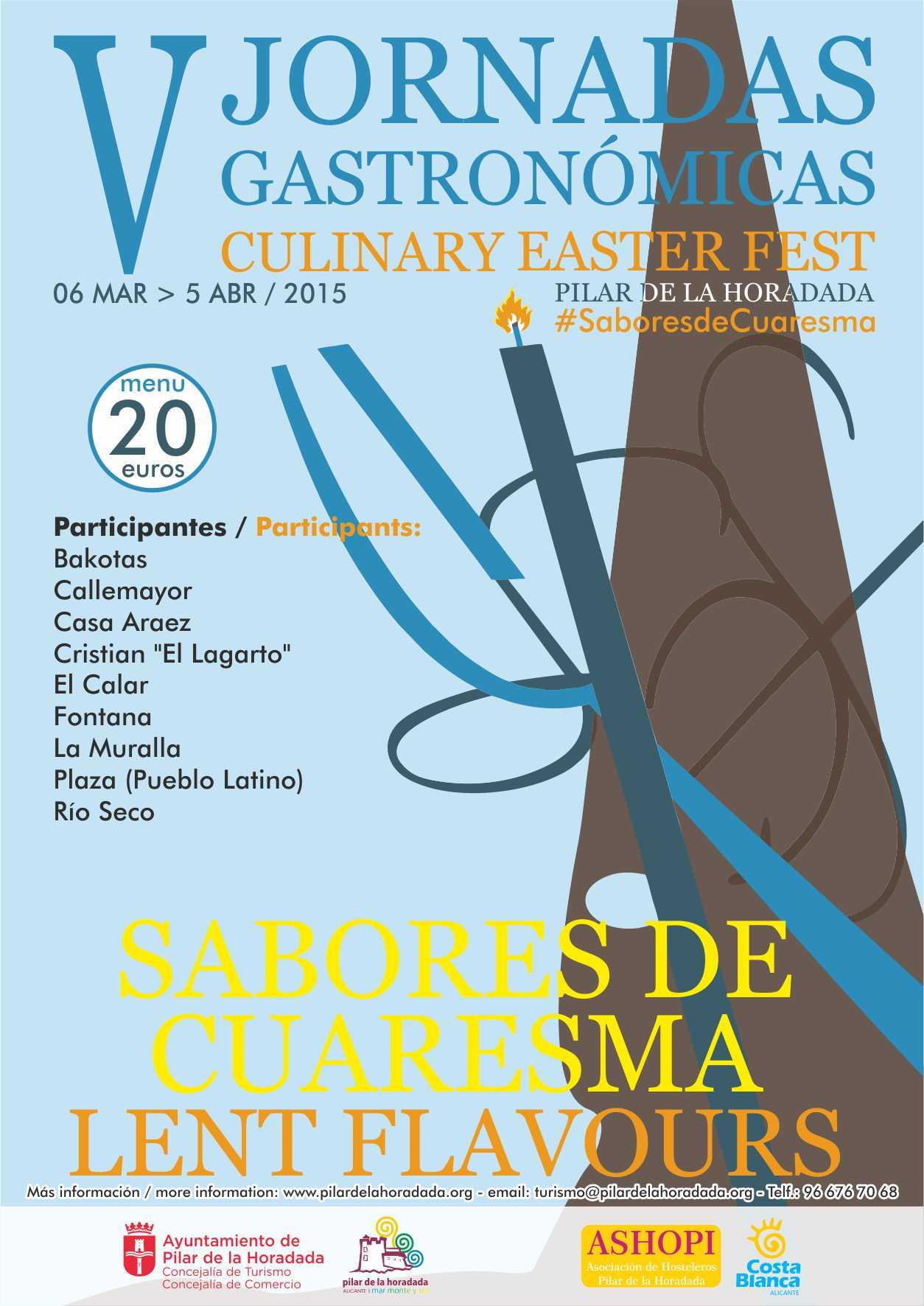 CARTEL SABORES DE CUARESMA 2015 WEB