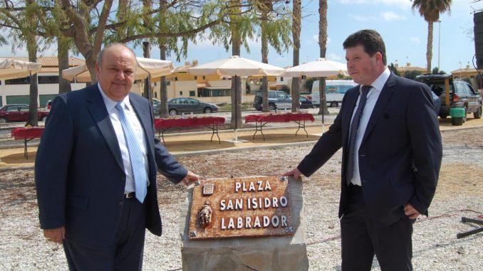 Inauguración plaza S. Isidro 23mar15
